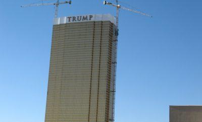Trump building in Vegas