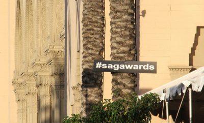 Screen Actors Guild Awards sign