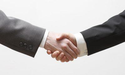 Trump's Handshake
