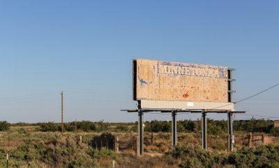 Politician hopes to make America white again with billboard.