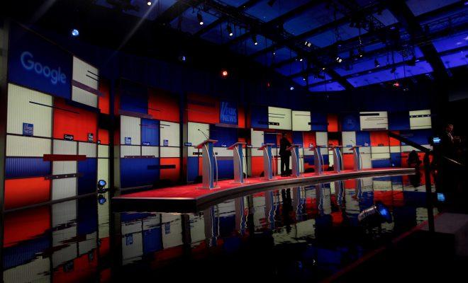 presidential debates stage