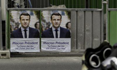 Emmanual Macron poster