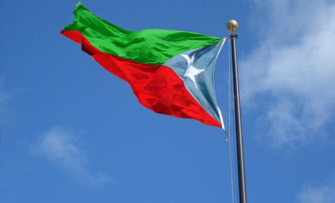 Baluchistan flag in Pakistan