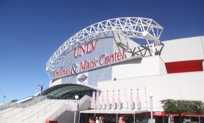 UNLV Thomas & Mack Center debate location