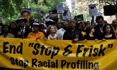 racial profiling protest