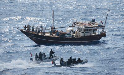 EU efforts to stop piracy