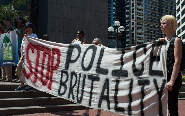 Anaheim; Police Brutality